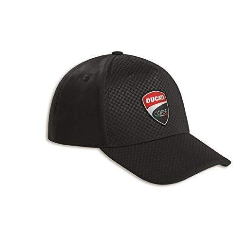 Ducati Corse Carbon Mütze schwarz