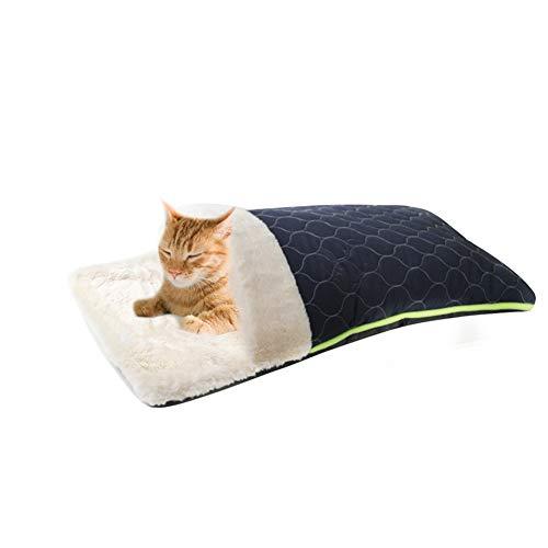 Bozaap sofá cama para mascota, suave y cálido, nido portá