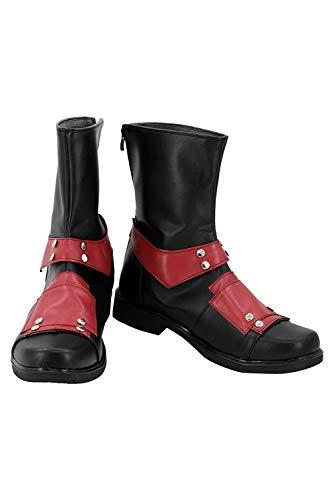 RedJade Wade Winston Wilson Deadpool Stiefel Karneval Schuhe Cosplay Boots Herren Rot 41