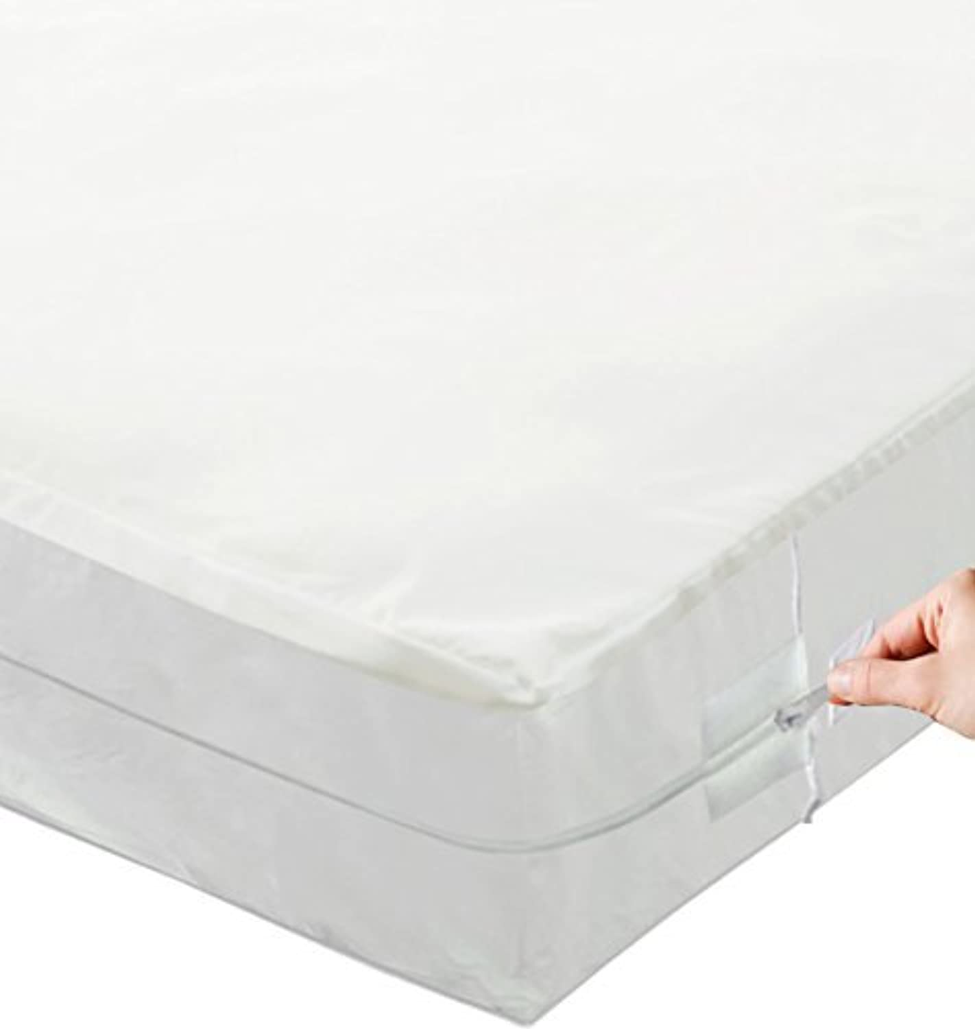 Continental Sleep BBP2-3 3 11-13 Box Spring Zippered Encasement Mattress Predector Cover That Fits 11-13  Mattress (2 Pack), Twin