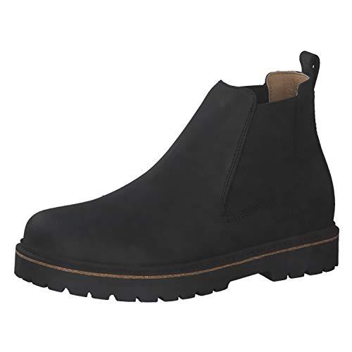 BIRKENSTOCK Damen Chelsea Boots Stalon LENU Black 38