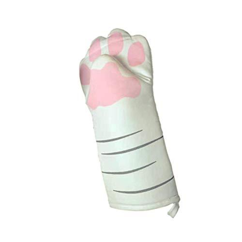 Cartoon Animal Oven Handschuh, 1 Stück verdickte Baumwolle 3D Cartoon Animal Oven Handschuhe Lange professionelle hitzebeständige rutschfeste Anti-Verbrühungshandschuhe Baumwolle Backwerkzeug zum