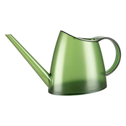 Emsa 518684 Fuchsia Gießkanne, transparent, 1,5 Liter Fassungsvermögen, Kunststoff, grün