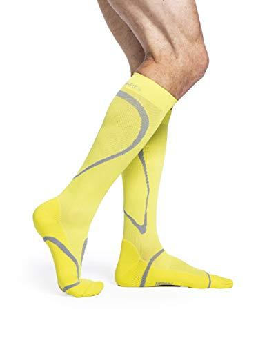 SIGVARIS Men's & Women's Motion High Tech 412 Closed Toe Calf-High Socks 20-30mmHg