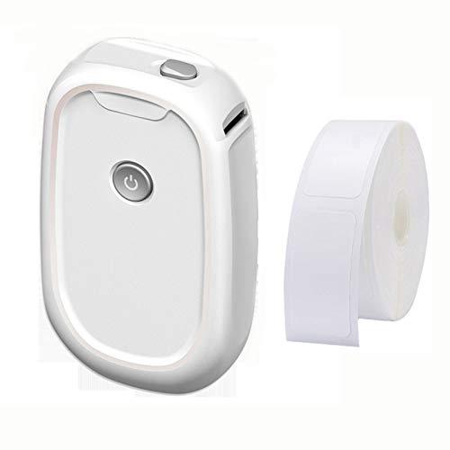 Dlovey Mini Impresora Portátil De Precios De Etiquetas Térmicas Bluetooth, Máquina para Hacer Adhesivos, para Tienda De Supermercado De Oficina En Casa Y Más