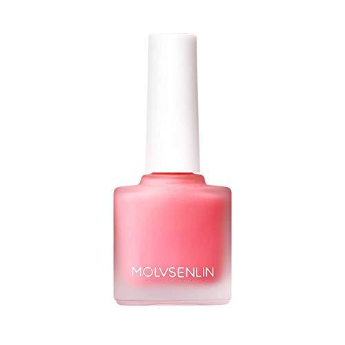 Allbestaye Schimmer Rouge Flüssig Peach Rot Rosa Wasserfest Make-up Face Cheek Blusher