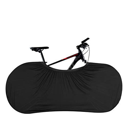 Radabdeckung, Fahrradabdeckung für drinnen und draußen, Aufbewahrungstasche für Fahrrad, dehnbar, Staubschutz für Reisen, Mountainbike, Fahrrad