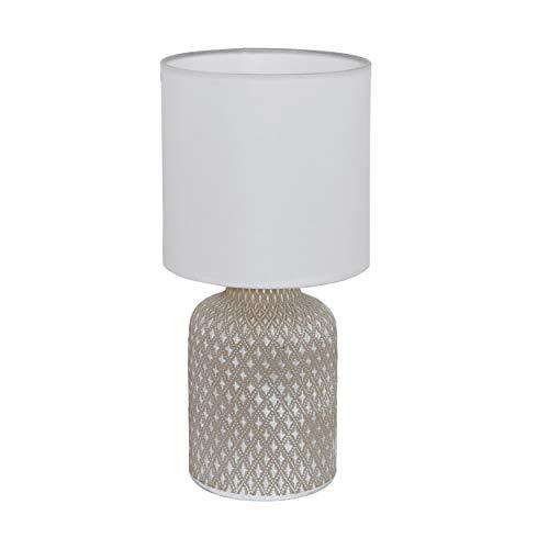 Preisvergleich Produktbild EGLO 97774 Tischleuchte der Serie BELLARIVA aus Keramik in grau