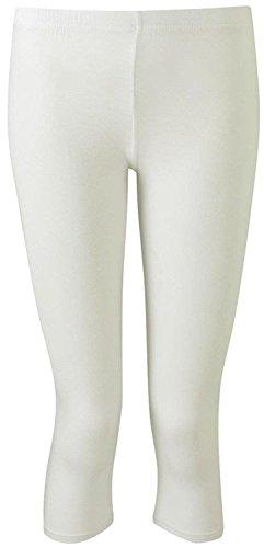 Mymixtrendz Crop Soft Viscose Leggings Stretchy Plain3/4 Under Knee Shorts