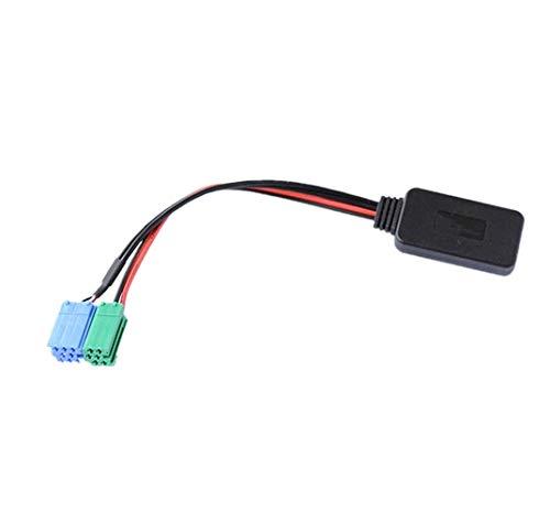 Adaptador Bluetooth inalámbrico CD estéreo AUX interfaz de música compatible con Mercedes Benz Porsche con Becker Radio para Porsche MB Ford 1994-02