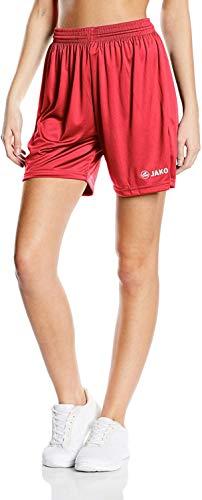 Jako Kinder Sporthose Manchester Shorts, Rot, 7-8 Jahre (Herstellergröße: 2)