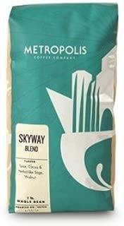 Skyway Fair Trade Organic Blend, Metropolis Coffee 5lb bag, Whole Bean Coffee …