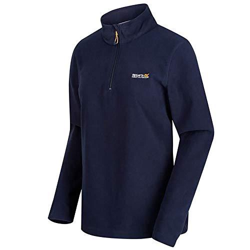 Regatta Women's Sweethart Lightweight Half-Zip Symmetry Fleece, Blue (Navy), 10