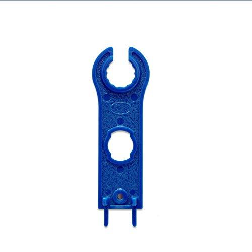 Llave MC4 Conector de panel solar Herramienta de desconexión Llave inglesa Llave ABS Bolsillo de plástico Llave de conector solar - azul