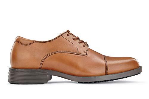 Shoes for Crews 1211-09-40/6.5/7.5 SENATOR Zapatos inteligentes de cuero con cordones, 9 uk