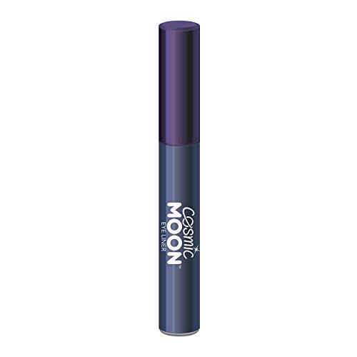 Cosmic Moon - Delineador de Ojos - 10ml - Para cautivar con los mejores estilos de ojos metálicos - Azul