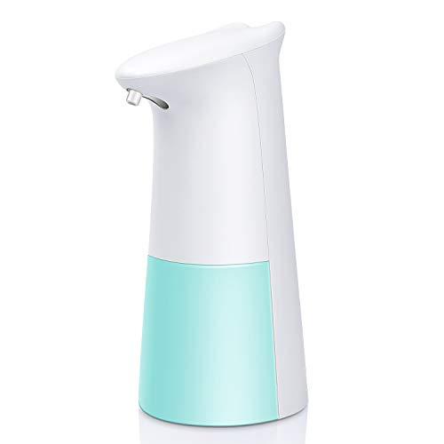 Dispenser Sapone Automatico 250ML Distributore di Sapone Schiumogeno Erogatore di Sapone Touchless con Sensore di Infrarossi per Cucina Bagno e WC