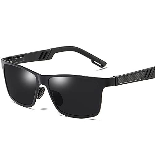 BEIAKE Hombres Polarizados Gafas De Sol Gafas Protección para Los Ojos Gafas De Resina De Sombreado Anti-UV para Ciclismo, Viajes, Playa, Unidad,1