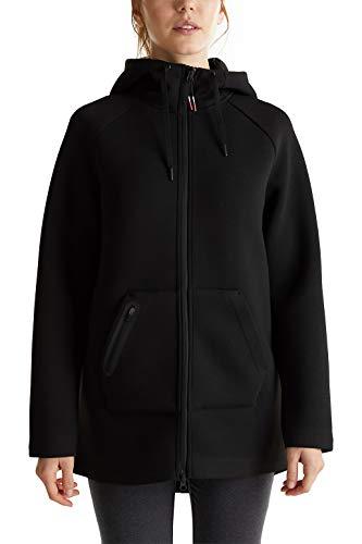 ESPRIT Sports Kapuzen-Cardigan aus festem Doubleface-Jersey