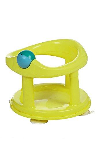Safety 1st 360° drehbarer Badesitz, ergonomischer Sitz für die Badewanne mit Rollball und 4 Saugnäpfen, nutzbar ab ca. 6 Monaten bis max. 10 kg, lime, Grün, 32110141