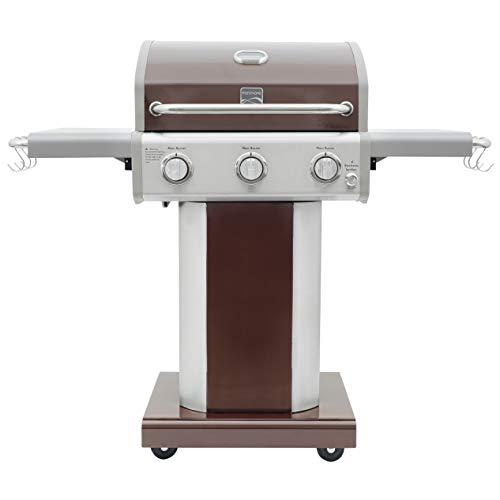 Kenmore PG-A4030400LD-MO 3 Burner Outdoor Patio Gas BBQ Propane Grill, Mocha Grills Propane
