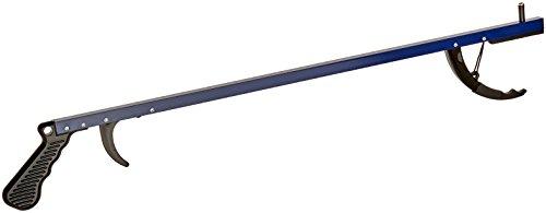 Sammons Preston 78196 Reacher, Blue, 26 Inch, Grabber Reacher Tool, Lightweight Trash Picker Grabber & Garden Nabber, Handy Aluminum Picker Up Tool & Reaching Claw, Portable Reaching Assist & Dressing Tool