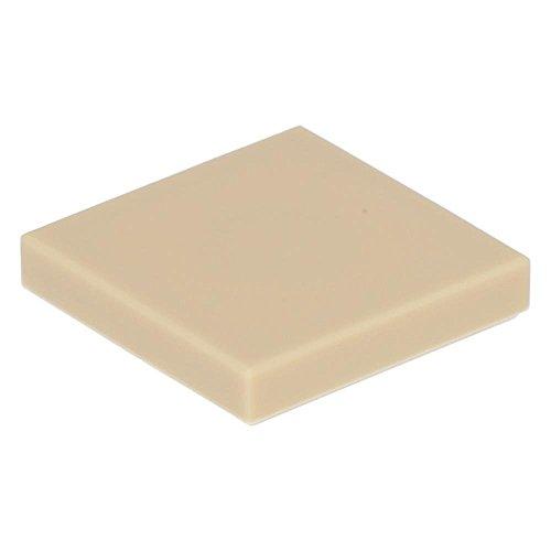 LEGO City - 100 beige Fliesen mit 2x2 Noppen