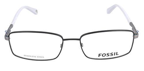 Fossil Brillengestelle FOS 6062 Rechteckig Brillengestelle 55, Mehrfarbig