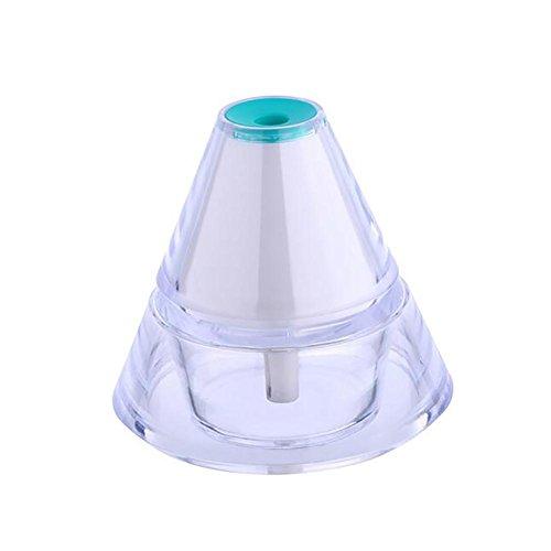 Pet Myyxt Humidificador USB Iceberg Mini Luz de la Noche Hogar Oficina Volcán silencioso niebla purificador de Aire, A