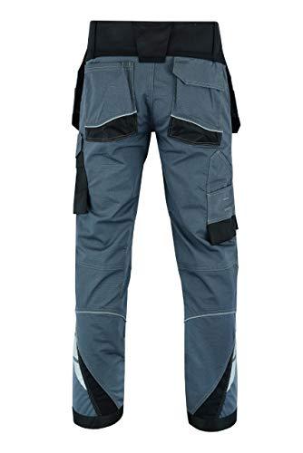 Men Work Cargo Trouser Grey Pro-11 Multi Pockets /& Knee Pad LOT