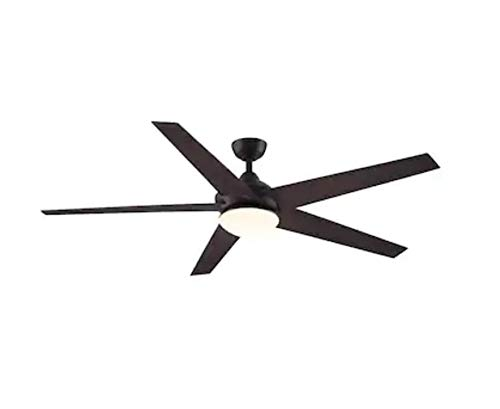 Fanimation Studio Collection Covert 64 In Dark Bronze Downrod Mount Indoor Outdoor Ceiling Fan With Led Light Kit And Remote Control Energy Star Buy Online In Honduras At Honduras Desertcart Com Productid 29920545