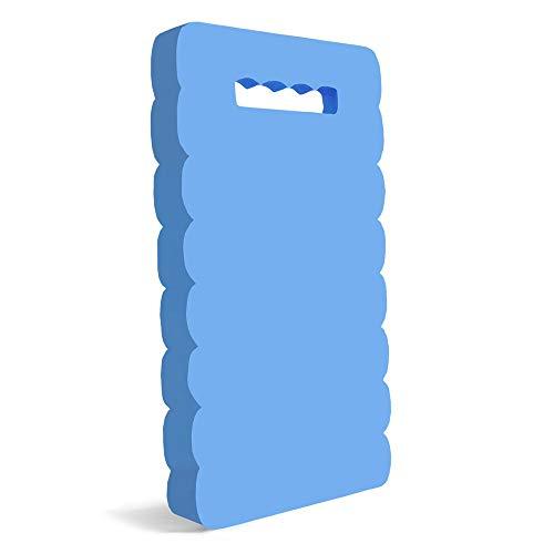 lulalula Almohadilla para rodillas de jardín, para jardinería, bañera, trabajo, ejercicio, alfombrilla de espuma para rodillas (azul)