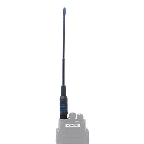 Antenna walkie talkie SMA-M//SMA-F//BNC Dual Band VHF UHF ad alto guadagno per radio bidirezionale SMA-M UT-UV108