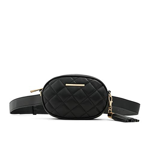ALDO Pounce Fannypack, Black and White