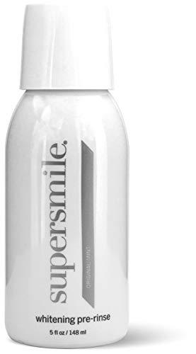 Supersmile Whitening Pre-Rinse, Clinically Formulated Pre-Brush Dental Mouthwash, 5 Fl Oz