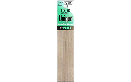 Jo-Ann Fabric and Craft Stores Unique Invisible Zipper 9 Inch -Natural