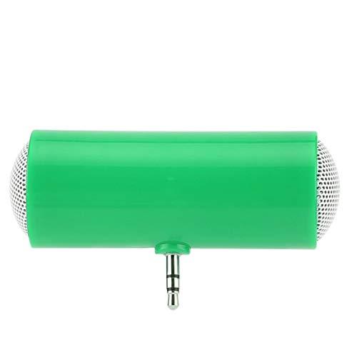 SeniorMar Mini Tragbarer Dual-Channel-Mono-Lautsprecher mit 3,5-mm-Klinkenstecker Mini-Audio-Lautsprecher für Tablet-Computer für Mobiltelefone