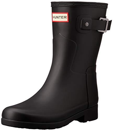 HUNTER Damen Boots Original Refined Short WFS1098RMA schwarz 39