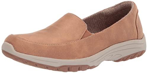 Skechers Women s Sporty Loafer Flat  Chestnut  8