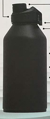 Manna Convoy Doppelwandige vakuumisolierte, auslaufsichere Deckel-Trinkflasche, 1,89 l, 18,8 ml, hält Flüssigkeit bis zu 24 Stunden heiß bis zu 12 Stunden lang, BPA-frei