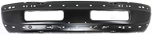 Front Bumper Compatible with 1994-1995 Dodge Ram 1500 / Ram 2500 / Ram 3500 Face Bar Black (99-02) Old Body Style
