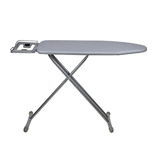 Tabla De Planchar,Home Universal Coated Padded Ironing Board Cover Pad Thick Reflect Heavy Scorch Resistant (Grey)