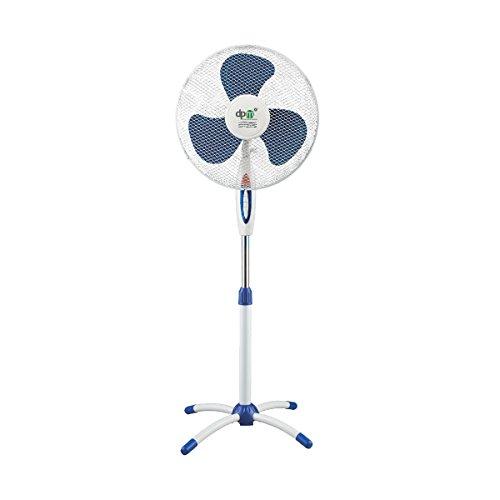 DPM Ventilador de pie columna – Diámetro 40 cm – 3 velocidades – Cabezal ajustable a 120 ° – Altura ajustable 130 cm – Potencia 40 W