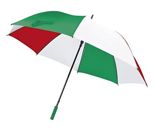 Ten Regenschirm ITALIENISCHE Flagge cod.EL21068 cm 127x127x96,5h by Varotto & Co.