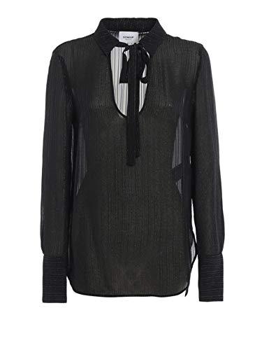 Dondup Luxury Fashion Damen DC087EF0108XXX99G Schwarz Viskose Bluse | Herbst Winter 19