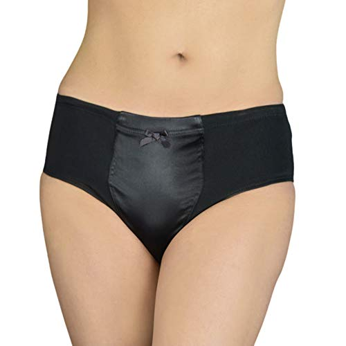 New & Improved Max Smooth Everyday Briefer (Black, Small)