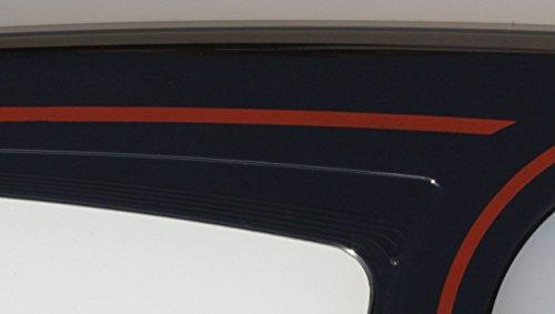 DEKAFORM Kettenschutz Easy Line 194-3-schwarz, Dekor 301-Rot für Biria BBF Conquest City Star Diamant Germatec Hanseatic KTM Fahrrad Mars Velo * 26