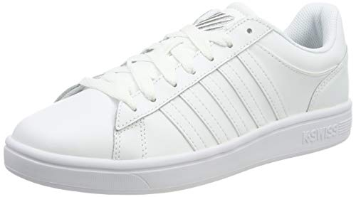 K-Swiss Herren Court Winston Sneaker, Weiß (White 154), 42 EU