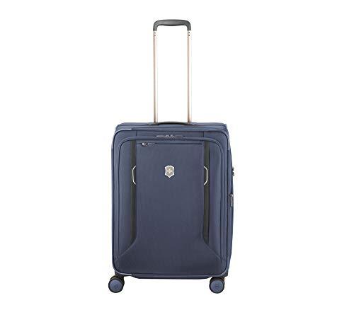 Victorinox Werks Traveler 6.0 Softside Medium - Reisekoffer mittelgroß Trolley 4 Rollen - Blau