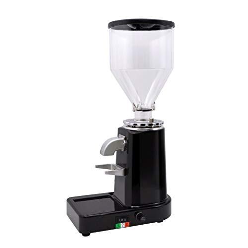 Preisvergleich Produktbild ALYR Elektrische Kaffeemühle,  Hauskaffeemühle,  Mahlscheibe 20 Grob- / Feineinstellungen, Black_ 23 * 14 * 43cm